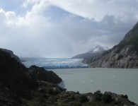 The Grey Glacier, Torres del Paine, Chile. Glaciers are receding as a consequence of Climate Change and Global Warming. Photo: Marie-Eve Jean (GLF Photo competition 2014)
