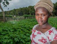 Tana basin woman farmer