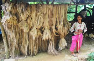 abaca and lumad comval province mindanao island philippines