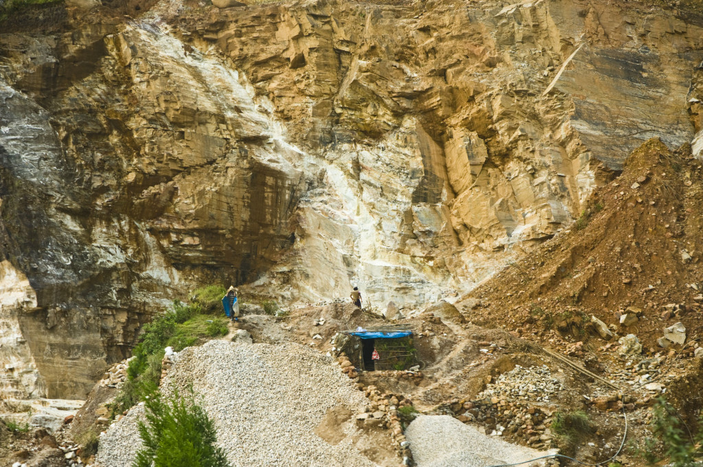 unearthed mining on the coal belt of meghalaya india