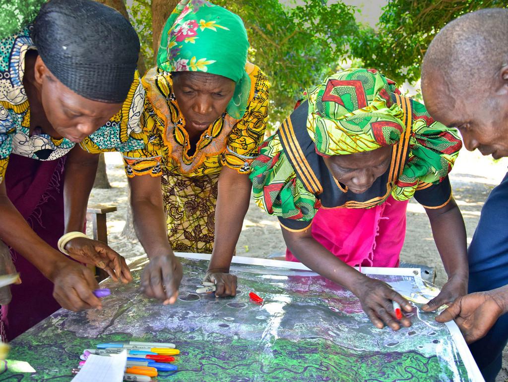 community mapping zambia