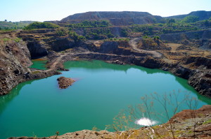 coal mines at khirsadoh chhindwara district madhya pradesh india