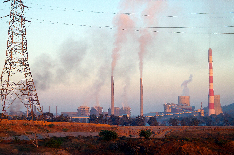 Pollution Thermal power plant at Sarni Betul District Madhya