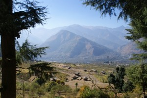flow of ecosystem services from forest to farm himachal pradesh india