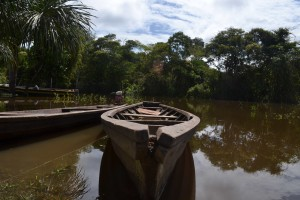 relying on boats for transport and fishing iquitos peru