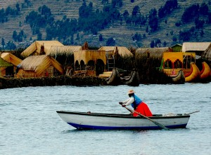 titicaca rowing on the highest lake in the world peru