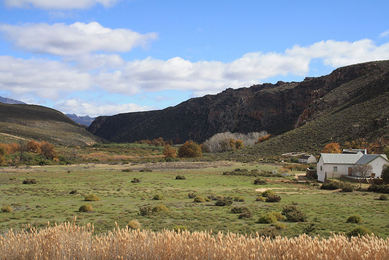 Cederberg mountain farm house