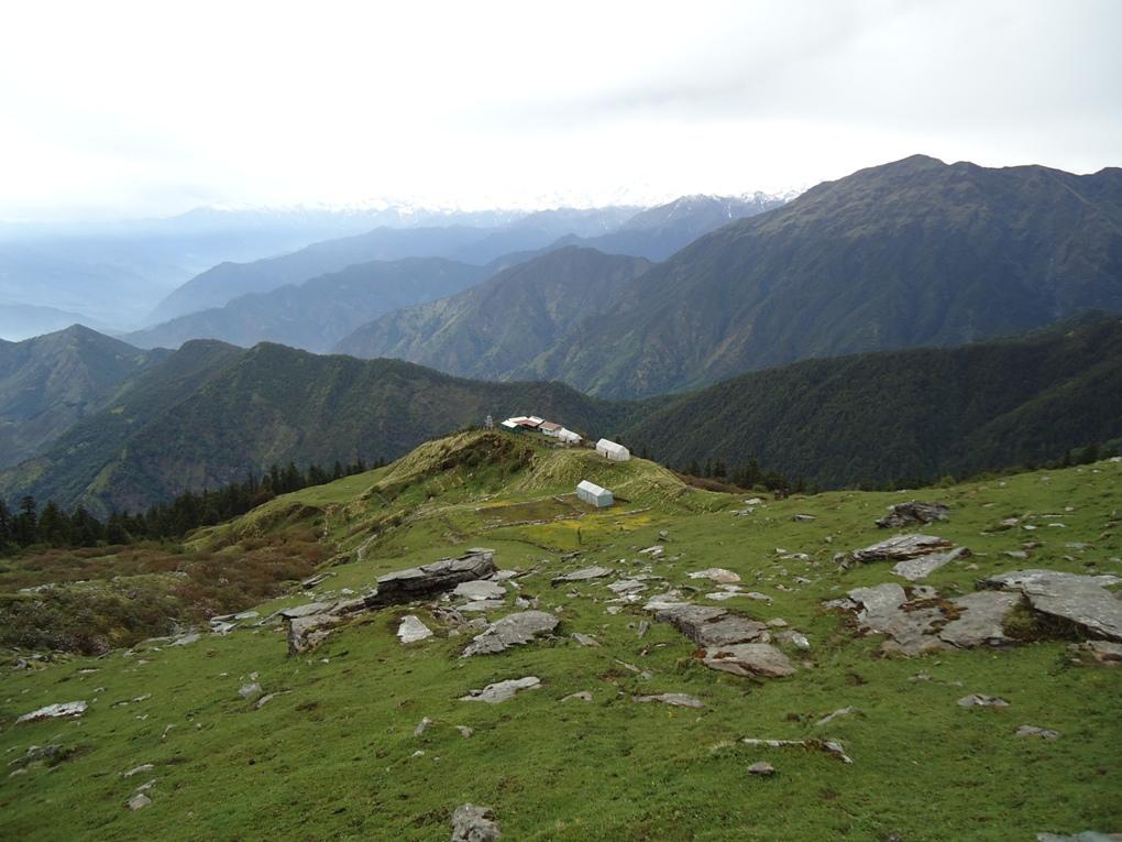 Landscape of Kedarnath Wildlife Sanctuary