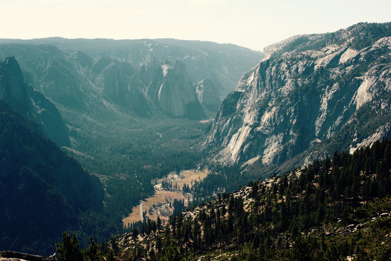 Yosemite dry valley