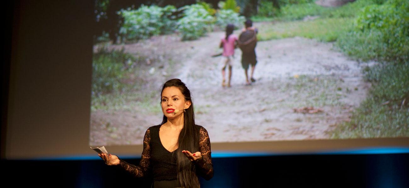Pecha Kucha-Style Night – Stories from the landscape - Andrea Vásquez