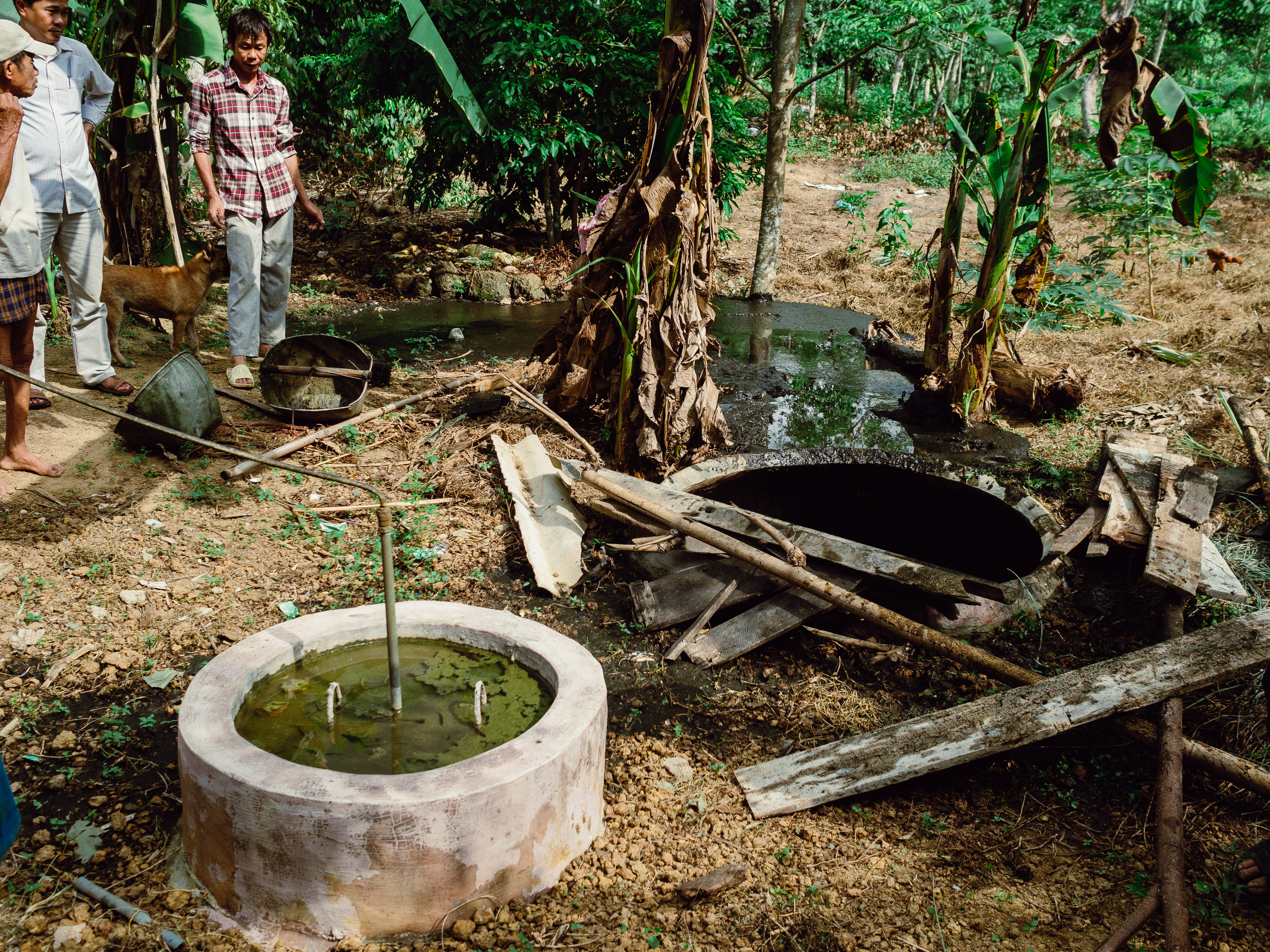 Small-scale biogas in rural Huế (Vietnam)