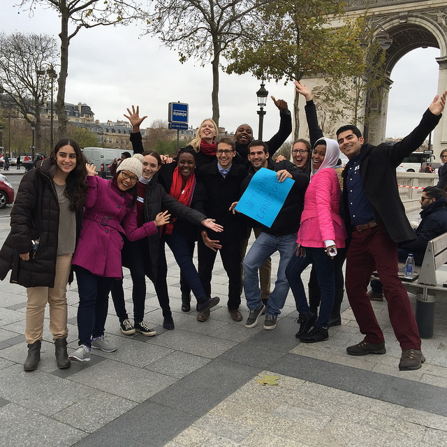 GLFCOP21 Youth in Landscapes scavenger hunt Picture credit: Youth in Landscapes initiative (YIL)