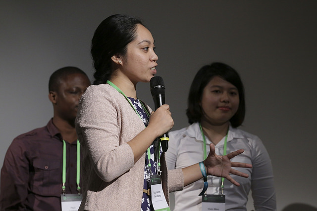 Young development professionals and students could pitch solutions to global landscape challenges to a panel of experts in a Dragon's Den Style Event. © Andrew Wheeler for Wild Dog Limited / WLE_CGIAR 2015 all rights reserved worldwide.