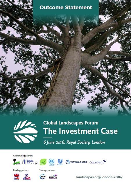 GLF London Outcome Statement cover file