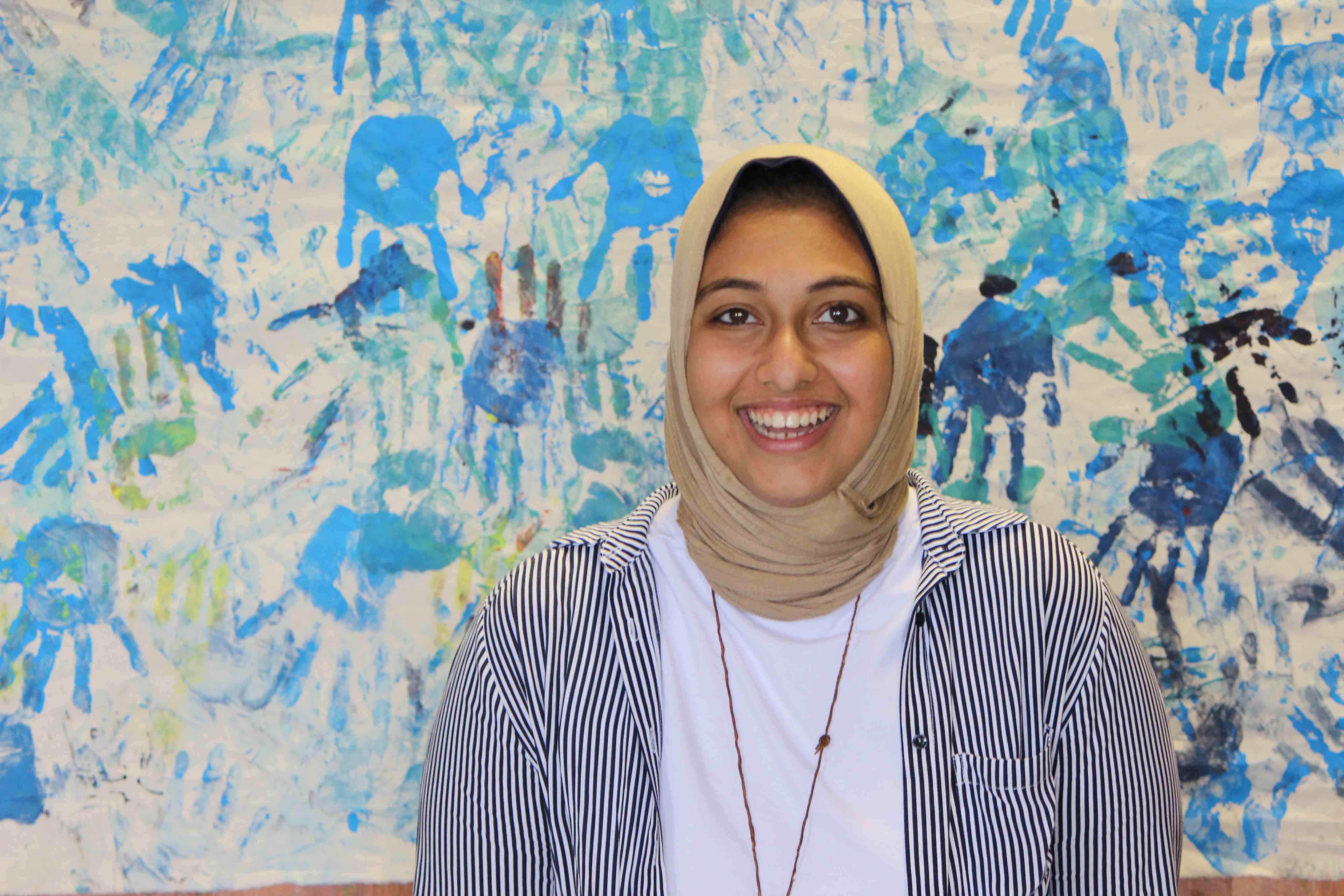 Photo of Youth Facilitator Heba Elhanafy